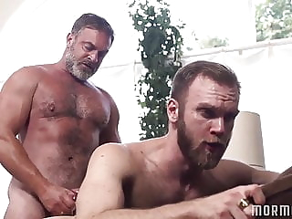 Kristofer Weston and Peter Marcus (BOB) daddy (gay) hunk (gay) muscle (gay)