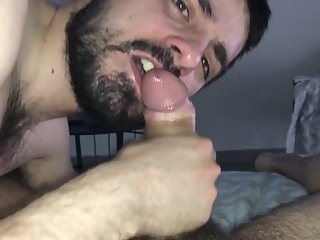 BIG GREEK COCK BLOWJOB AND FUCKING amateur bareback big cock