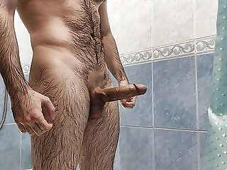 jerking off my cock in the bathroom 4:46 2020-12-16