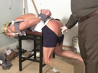 High School Prom King Tied Up By Scary Janitor 14:02 2020-05-20