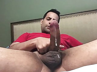 Three colors amateur bear big cock